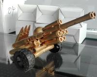 弹壳 小款炮车 F50